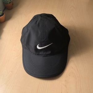 Women's Black Nike Dri-Fit hat